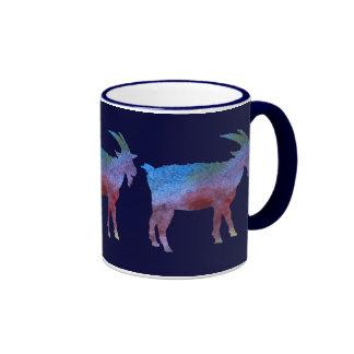 Cabras lavadas color taza a dos colores