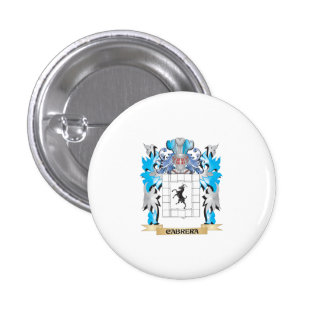 Cabrera Coat of Arms - Family Crest Button