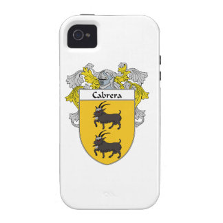 Cabrera Coat of Arms/Family Crest Vibe iPhone 4 Covers