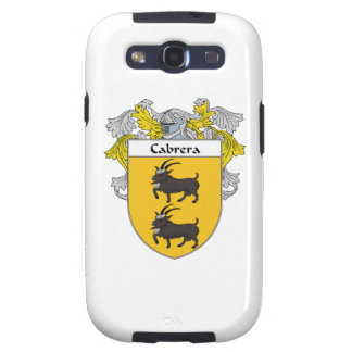 Cabrera Coat of Arms/Family Crest Galaxy SIII Covers