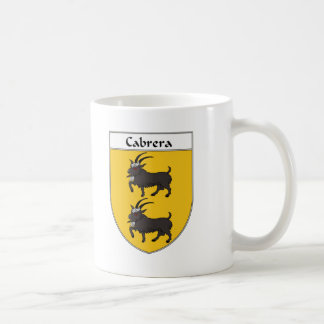 Cabrera Coat of Arms/Family Crest Coffee Mug