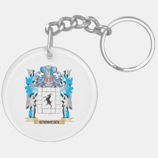Cabrera Coat of Arms - Family Crest Keychain
