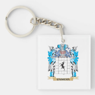 Cabrera Coat of Arms - Family Crest Acrylic Key Chain