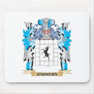Cabrera Coat of Arms - Family Crest Mousepad