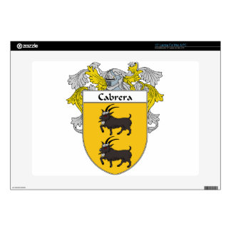 Cabrera Coat of Arms/Family Crest Skin For Laptop