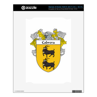 Cabrera Coat of Arms/Family Crest Skins For The NOOK