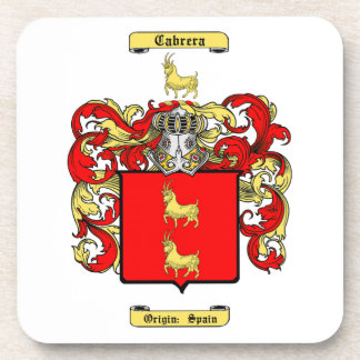 Cabrera Drink Coaster