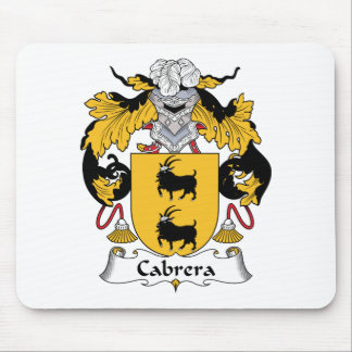 Cabrera Family Crest Mouse Mats