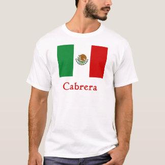Cabrera Mexican Flag T-Shirt