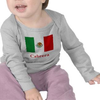 Cabrera Mexican Flag Tees