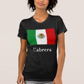 Cabrera Mexican Flag T-shirts