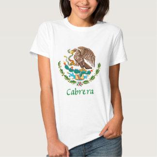 Cabrera Mexican National Seal T-Shirt