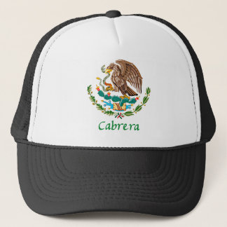 Cabrera Mexican National Seal Trucker Hat