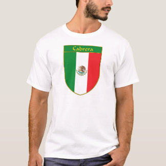 Cabrera Mexico Flag Shield T-Shirt