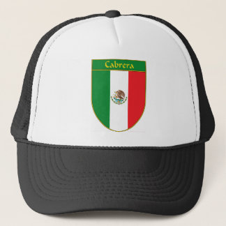 Cabrera Mexico Flag Shield Trucker Hat