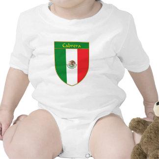 Cabrera Mexico Flag Shield T Shirt