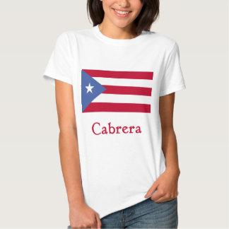 Cabrera Puerto Rican Flag T-Shirt