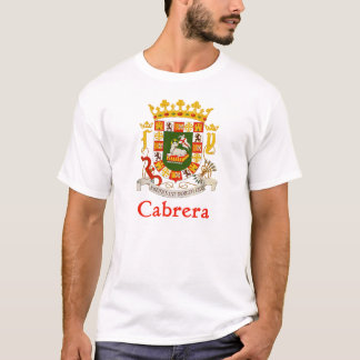 Cabrera Puerto Rico Shield T-Shirt