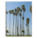 Cabrillo Avenue, Santa Barbara, California Spiral Notebook