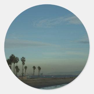 Cabrillo Beach Classic Round Sticker