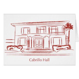Cabrillo Hall Card