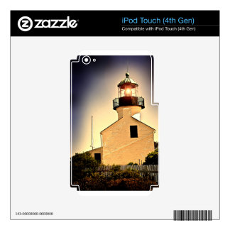 Cabrillo Light House Decals For iPod Touch 4G