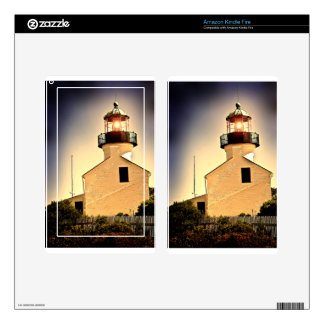 Cabrillo Light House Decals For Kindle Fire