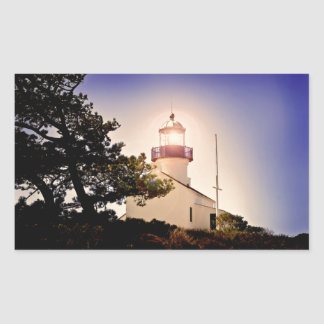 Cabrillo Light House Rectangular Sticker
