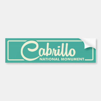 Cabrillo National Monument Bumper Sticker
