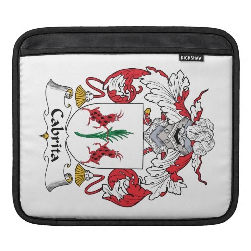 Cabrita Family Crest Sleeve For iPads
