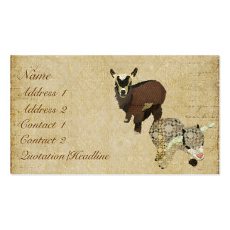 Cabrito Business Card/Tags Double-Sided Standard Business Cards (Pack Of 100)
