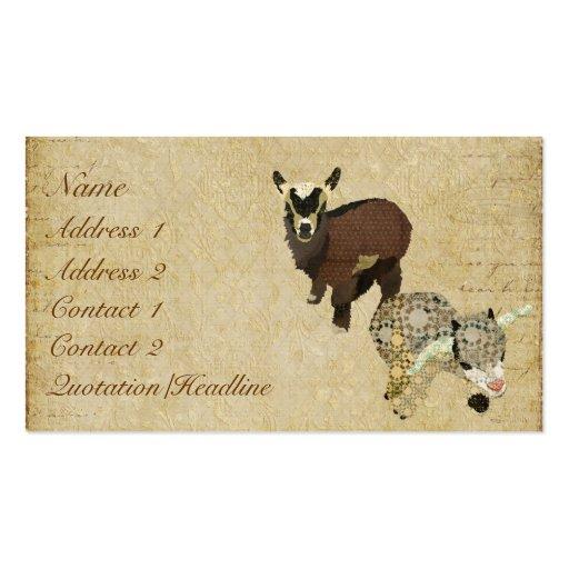 Cabrito Business Card/Tags