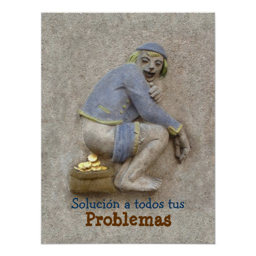 Caca de Oro ~ Poster 24X18