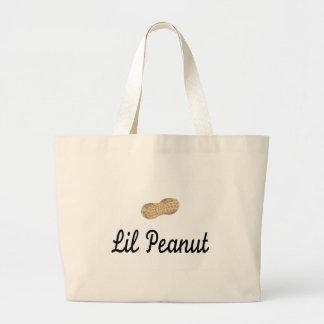 Cacahuete de Lil Bolsa Tela Grande