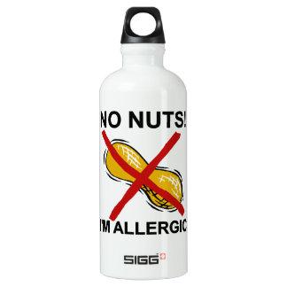 Cacahuete NINGUNAS nueces soy alérgico