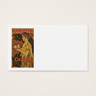 Cacao and Chocolade VanHouten Business Card