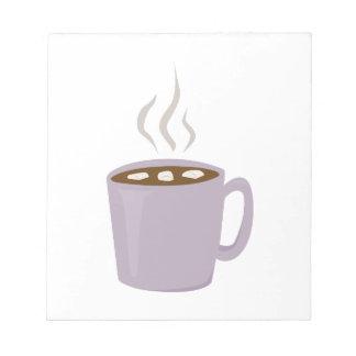 Cacao caliente blocs de papel