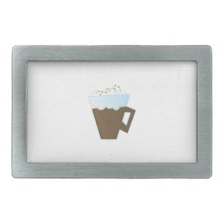 Cacao caliente hebillas de cinturon rectangulares