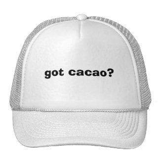 ¿cacao conseguido? gorros bordados