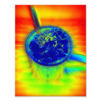 Cacao del arco iris arte fotográfico