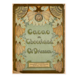 Cacao en Chocolaad Dutch Chocolate 1900 Postcards