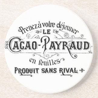 Cacao francés del vintage - anuncio de Payraud Posavaso Para Bebida