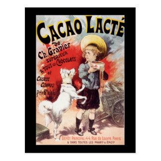 Cacao Lacte de Lucien Lefevre Postal