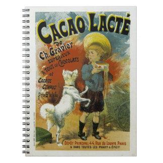 Cacao Lacte Libros De Apuntes Con Espiral