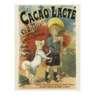 Cacao Lacte Postcard