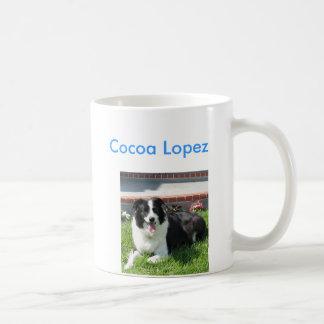 Cacao López, Tazas De Café