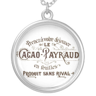 Cacao Payraud pendant necklace