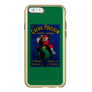 Cacao Poulain Vintage PosterEurope Incipio Feather Shine iPhone 6 Case