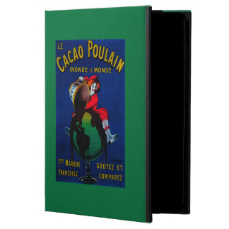 Cacao Poulain Vintage PosterEurope iPad Air Cover