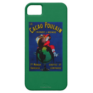 Cacao Poulain Vintage PosterEurope iPhone SE/5/5s Case